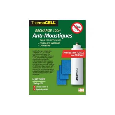 Thermacell (KIT RECHARGE 120h) Anti Moustiques Nomade